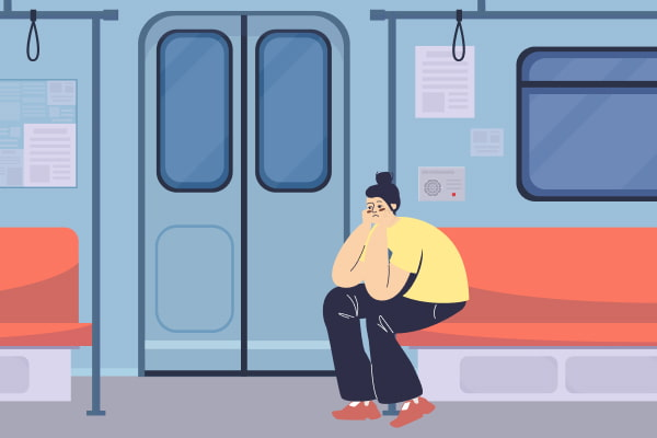 lost items in the train